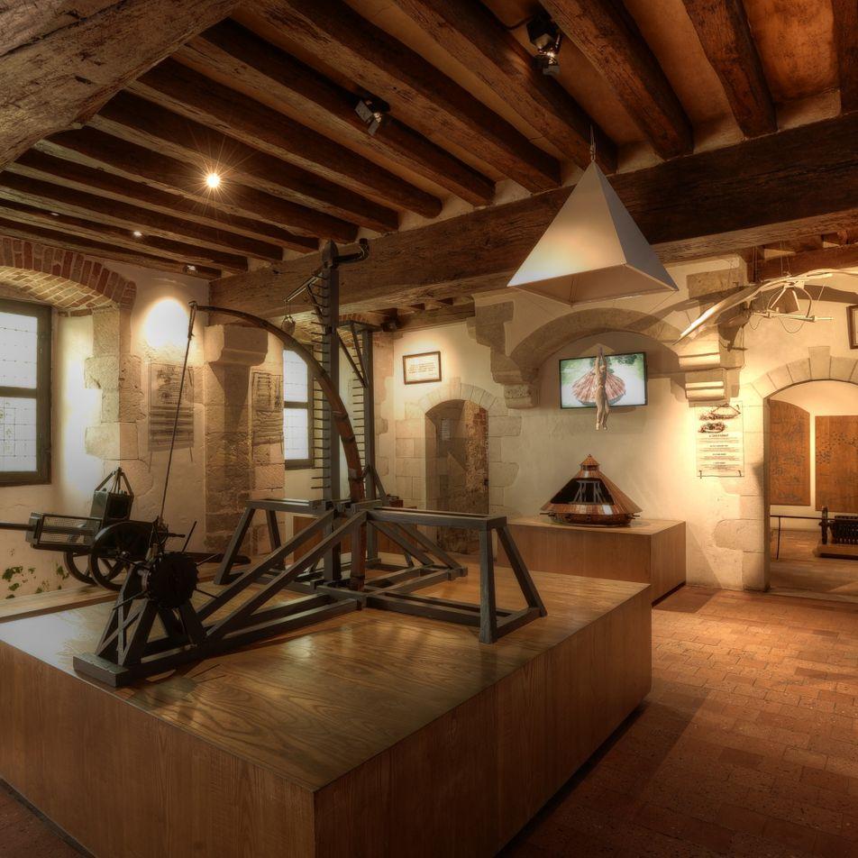 Balade au Clos Lucé : Léonard de Vinci en cinq inventions