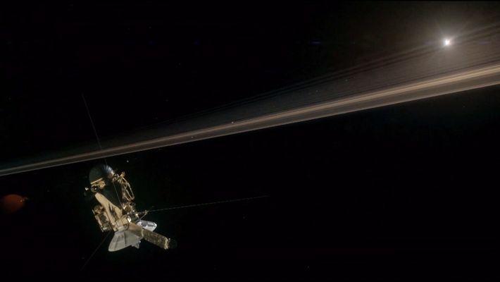 Saturne : le retour de la sonde Cassini