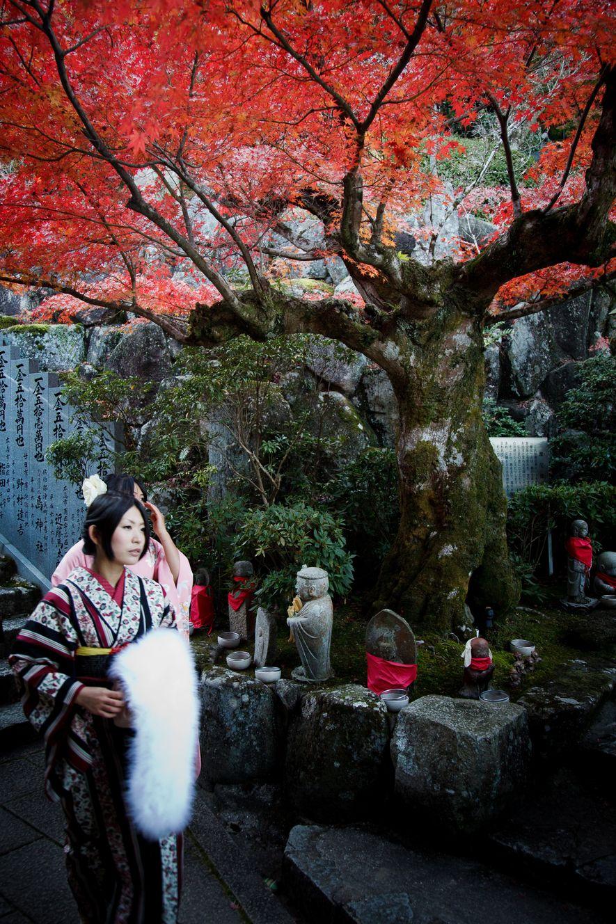Fondé sur l'île de Miyajima en 806, le temple Daishō-in de l'école du bouddhisme ésotérique Shingon, ...