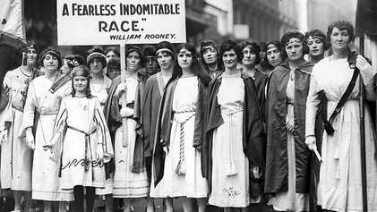 Suffragettes, prêtes à tout pour voter