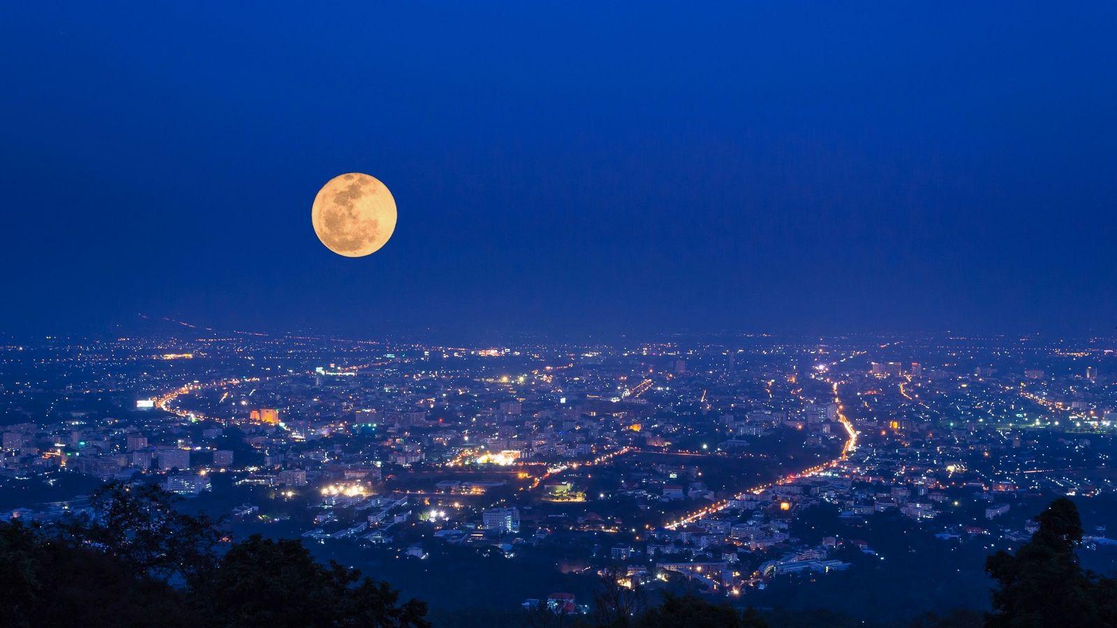 Qu'est-ce qu'une super Lune ?