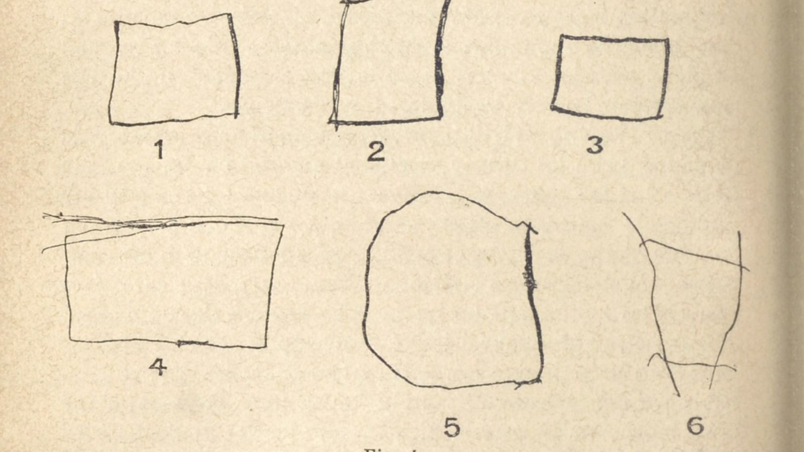 Test du carré pour enfant de cinq ans, issu des travaux d'Alfred Binet et Théodore Simon.