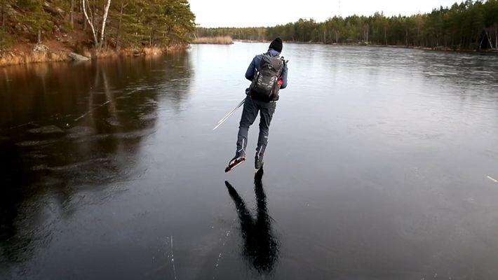 L'art du patinage nordique