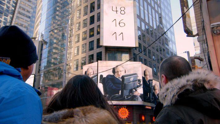 Genius à Times Square