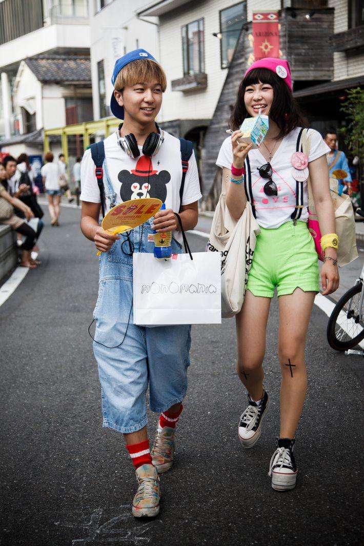 À Harajuku, les tenues décontractées ou à la mode sont de rigueur. Ce bastion de la ...