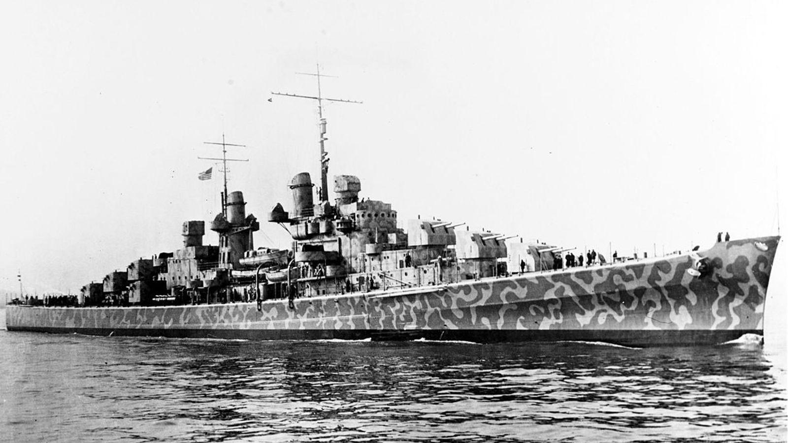 L'USS Juneau en février 1942.