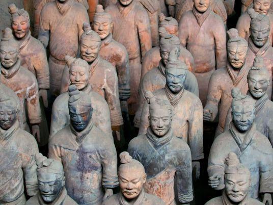 L'impressionnante armée de terre cuite du premier Empereur de Chine