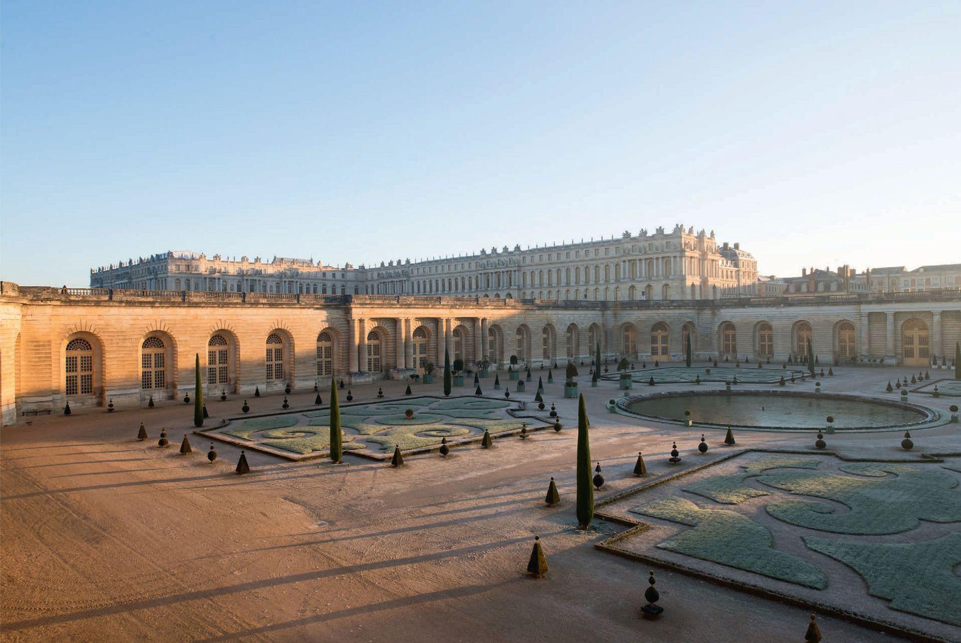 Des milliers d'orangers, de citronniers et de grenadiers à Versailles - dont certains ont plus de ...
