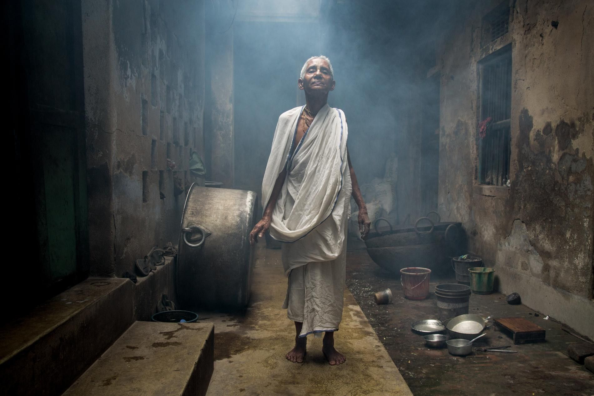 INDE - Des villes qui sont des centres spirituels abritent des communautés de veuves. Celles-ci attirent ...