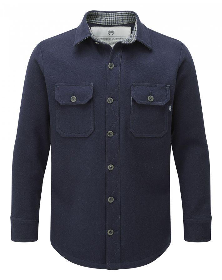 T. Shirt manches longues en laine mérinos