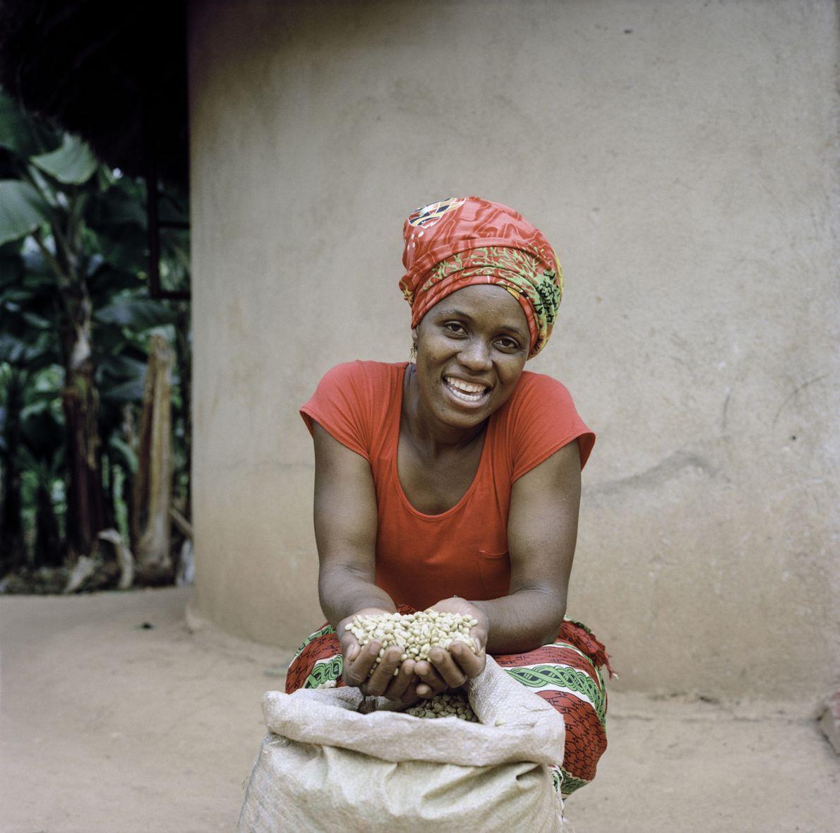 Jesca Kangai, 35 ans, vit dans le village de Pangeti, dans le district de Mutasa, dans ...