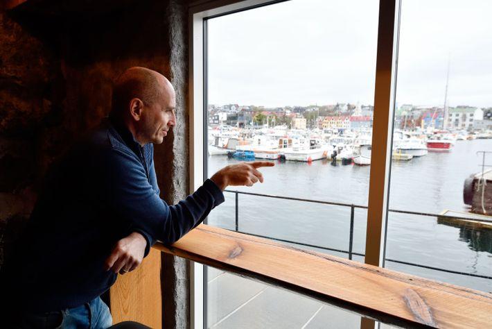 Cofondateur de Koks, dont il fut le chef jusqu'en 2014, Leif Sorensen, ici dans son nouveau ...