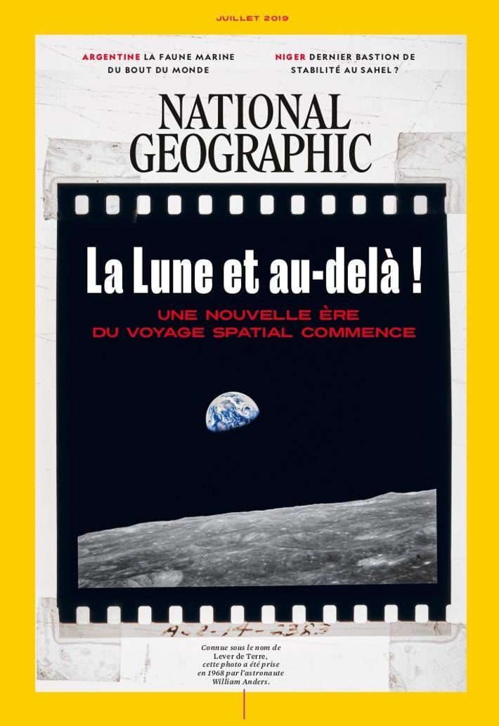 Magazine National Geographic de juillet 2019