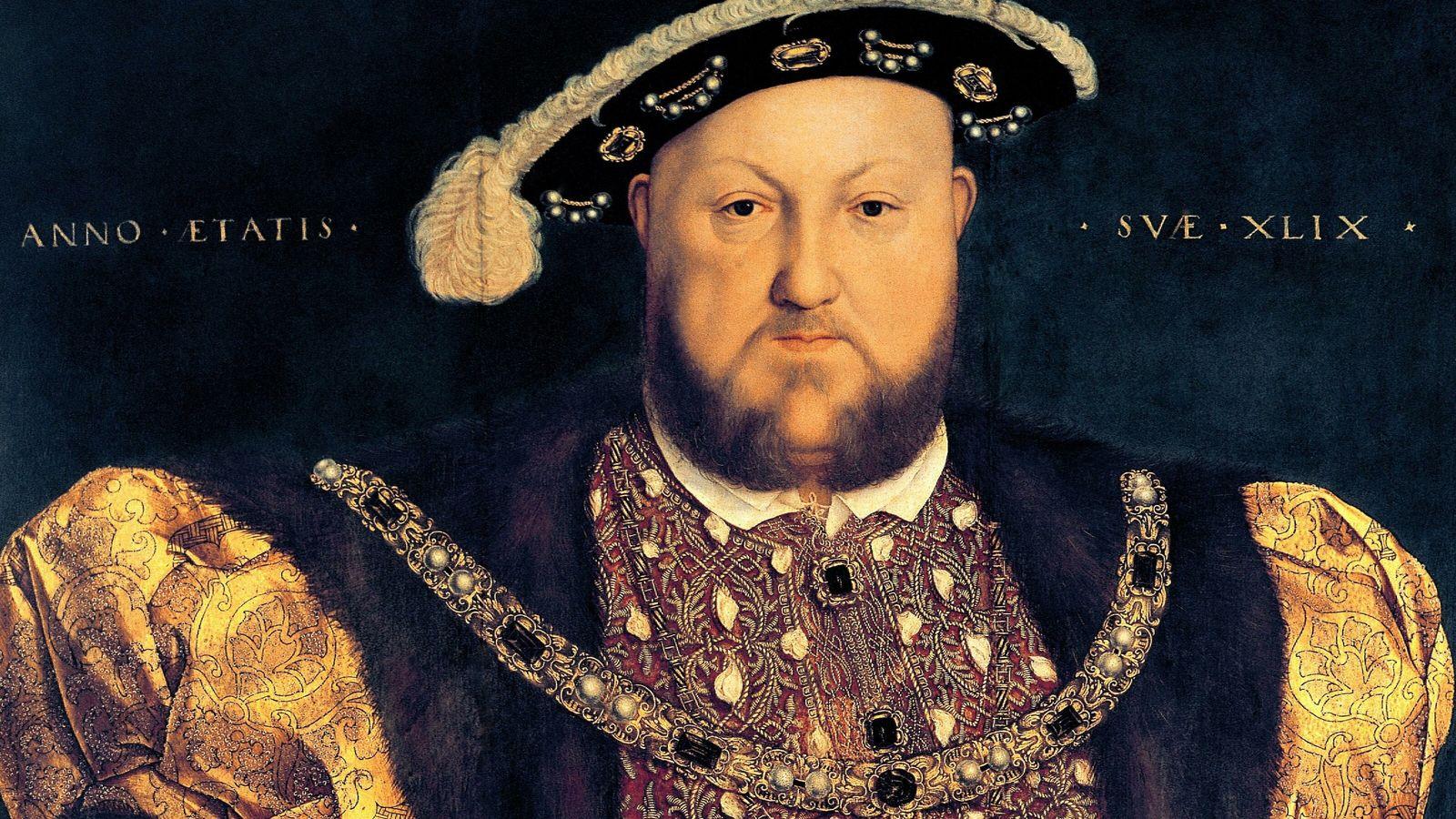 Portrait du roi Henri VIII. Par Hans Holbein le Jeune. 1540. Palais Barberini, Rome