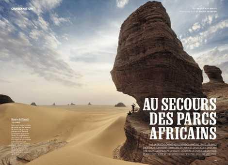 Au secours des parcs africains.
