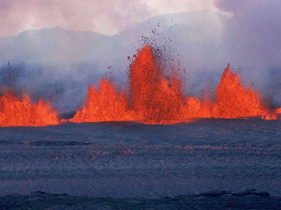 Islande : découverte de poches de magma cachées autour des volcans