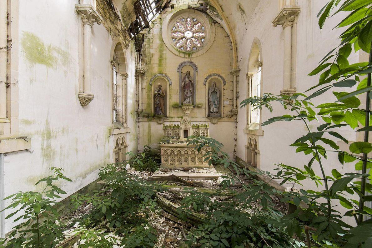 Une chapelle, France.