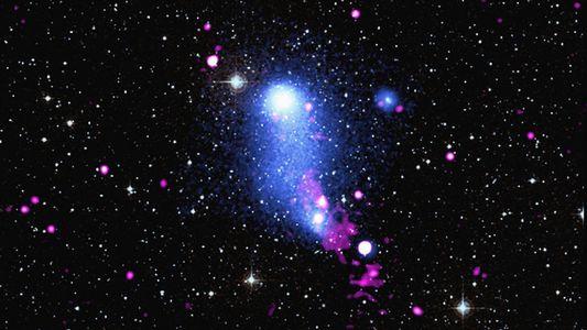 Découverte d'un pont de gaz chaud entre deux amas de galaxies