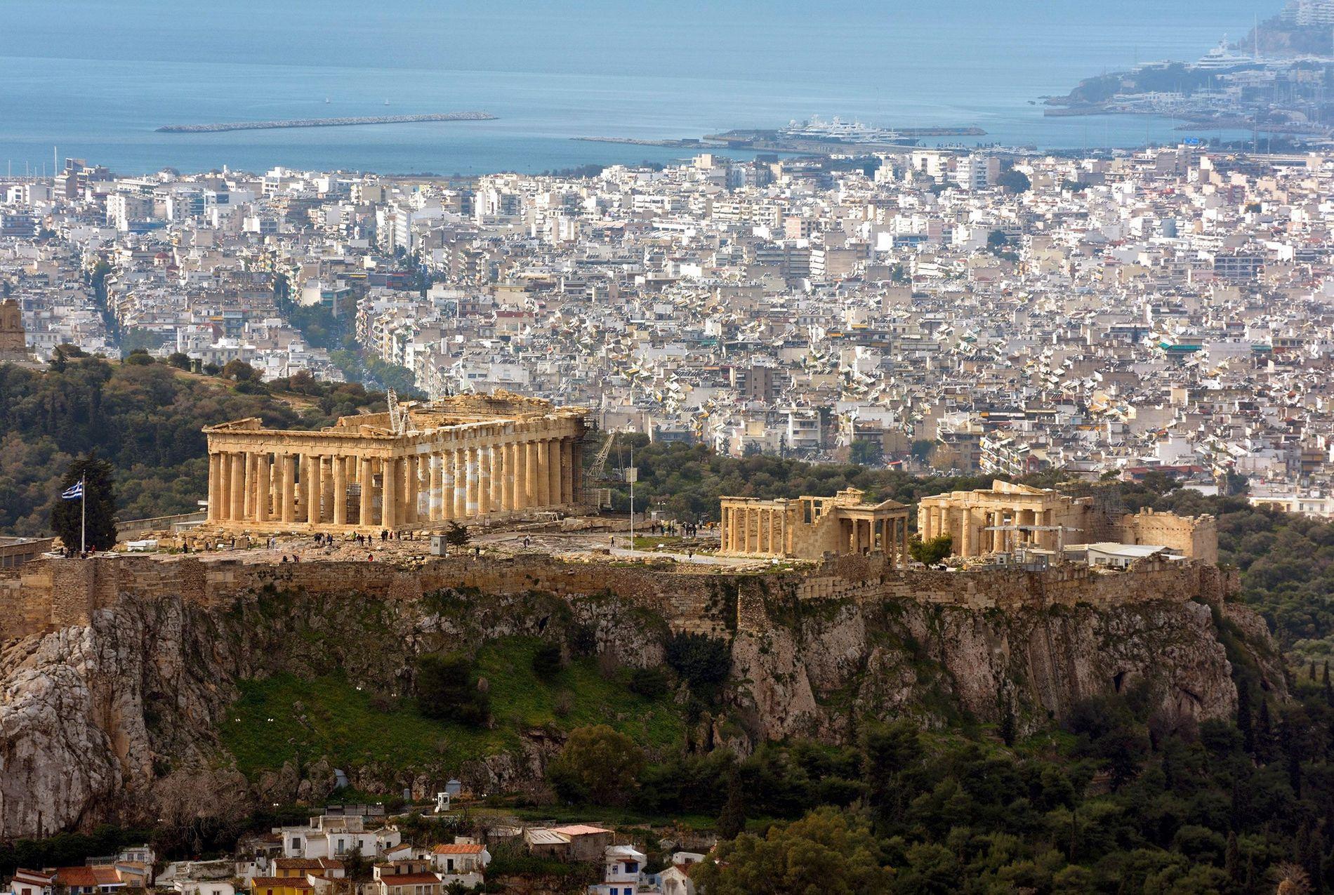 Athènes vue par une exploratrice National Geographic