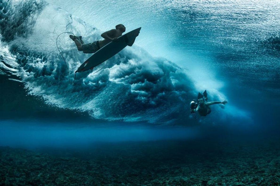 « Prendre des photos sous l'eau est toujours un défi, surtout pour quelqu'un comme moi qui ...