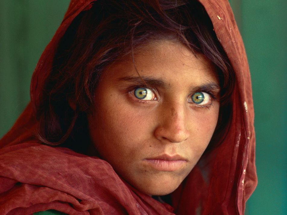 L'Afghane aux yeux verts est rentrée en Afghanistan après 30 ans d'exil