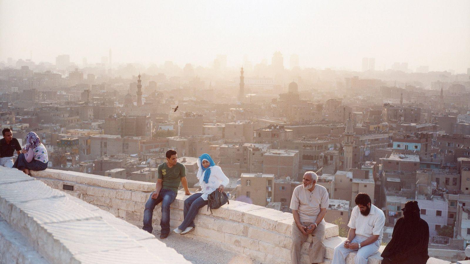 Le parc Al-Azhar est un havre de peux en plein cœur de la trépidante ville du ...