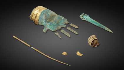 Découverte de la première pièce en métal datant de l'Âge du Bronze en Europe