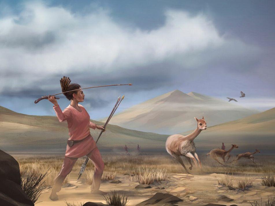 Ce chasseur préhistorique mort il y a 9 000 ans était une femme
