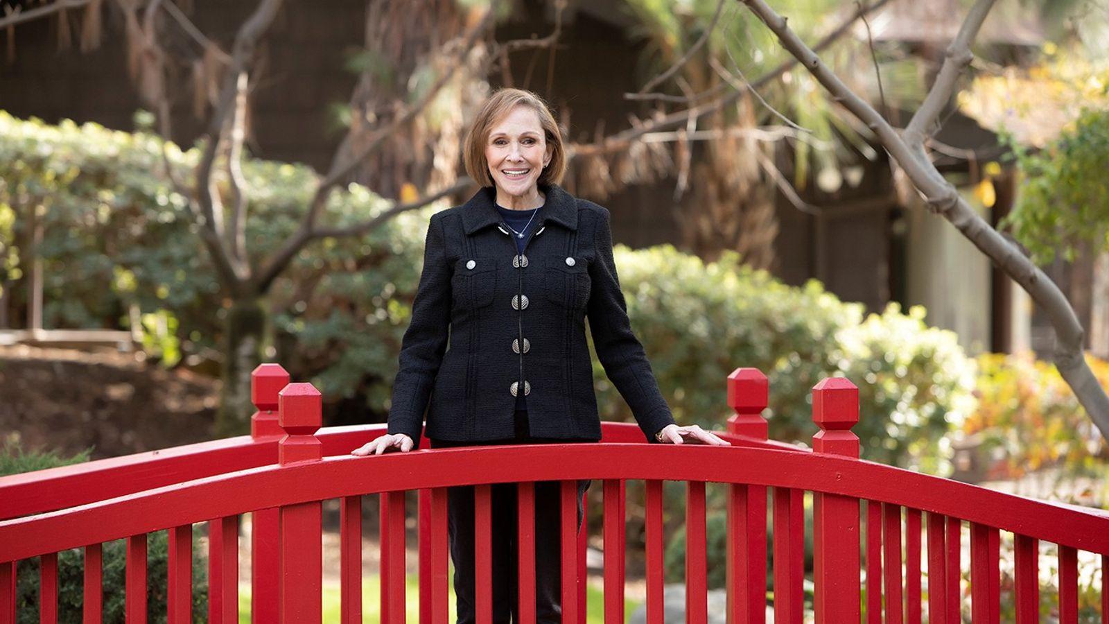 Ann Druyan, réalisatrice et productrice exécutive de la série COSMOS : NOUVEAUX MONDES et veuve de ...