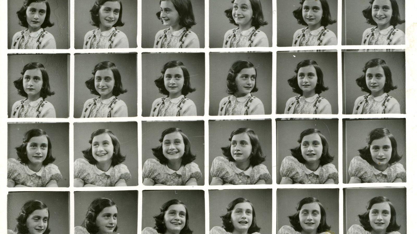 Ces photographies d'Anne Frank datent de 1939, peu de temps avant qu'elle et sa famille ne ...