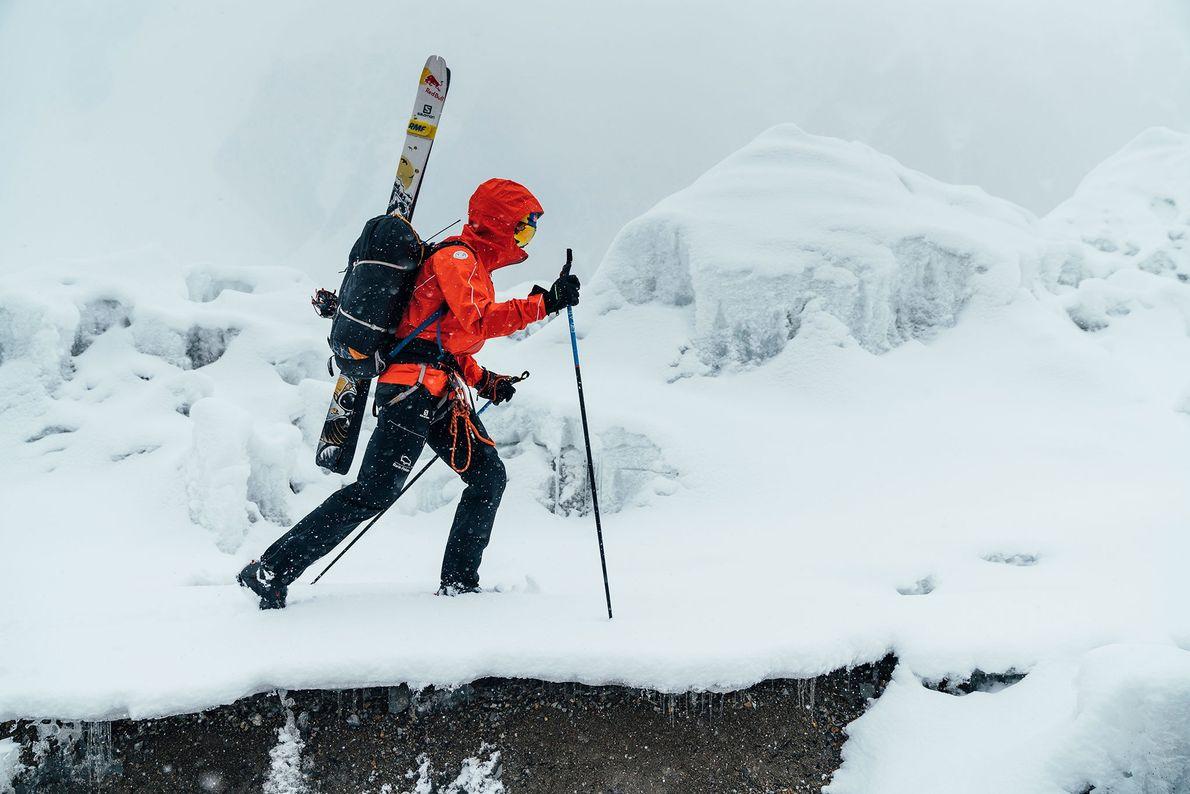 Cet homme a réalisé la première descente à skis du K2
