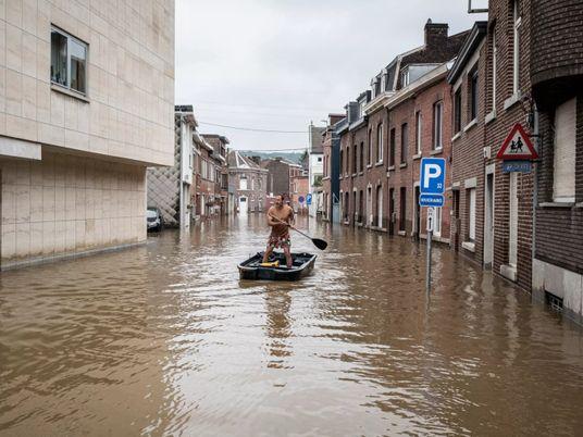 Inondations en Europe : ces phénomènes extrêmes devraient se multiplier dans les années à venir