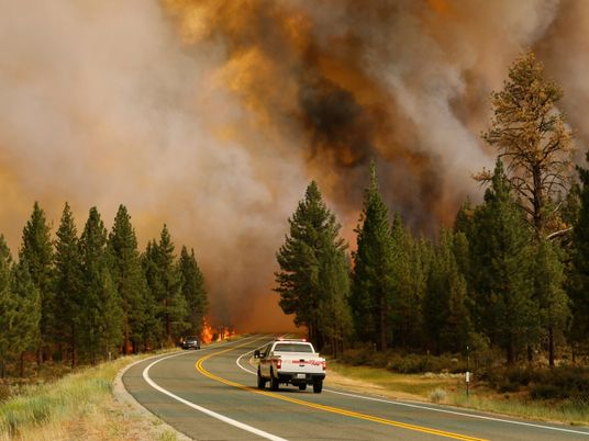 En Amérique du Nord, la fumée des feux de forêt inquiète