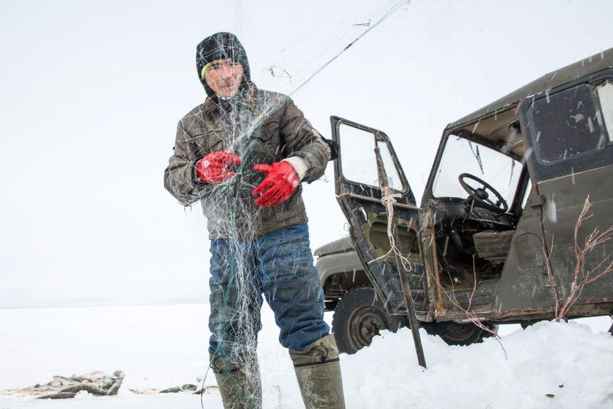 Ces dernières années, l'activité liée à la pêche a fortement augmentée dans la partie nord de la mer d'Aral, indicateur du succès des efforts de restauration de l'écosystème entrepris.