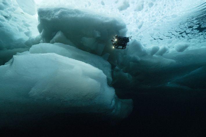 Un véhicule de la NASA piloté à distance explore les eaux sous la glace pluriannuelle de ...