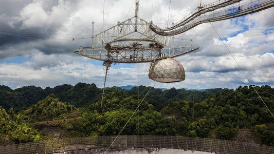 L'iconique radiotélescope de l'observatoire d'Arecibo va être démoli