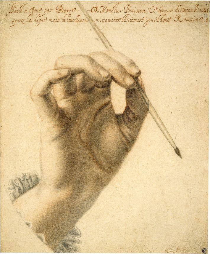 Au sommet de sa carrière, Gentileschi était honorée par les artistes et les écrivains. Le portraitiste ...