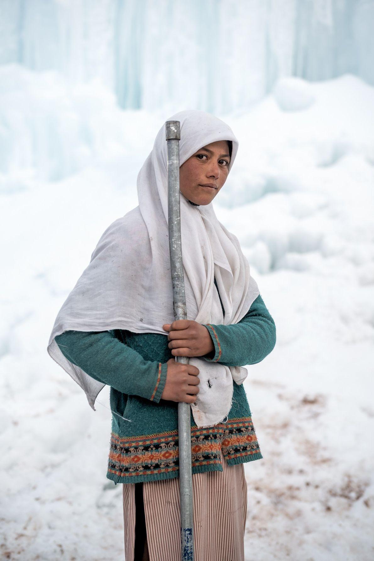 Farida Batool est étudiante au collège du village de Karith, dans les hautes montagnes de la ...
