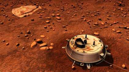 Lettre d'amour à Huygens, l'atterrisseur qui s'est posé sur Titan