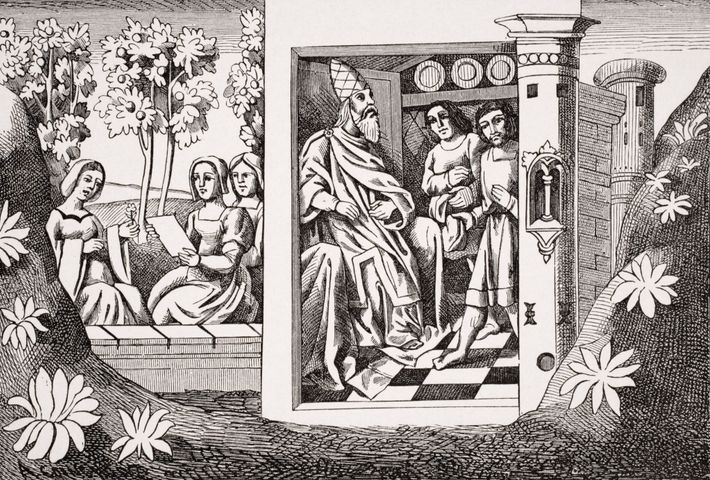Les voyageurs européens comme Marco Polo ont répandu des histoires fantaisistes sur les Nizârites, comme le ...