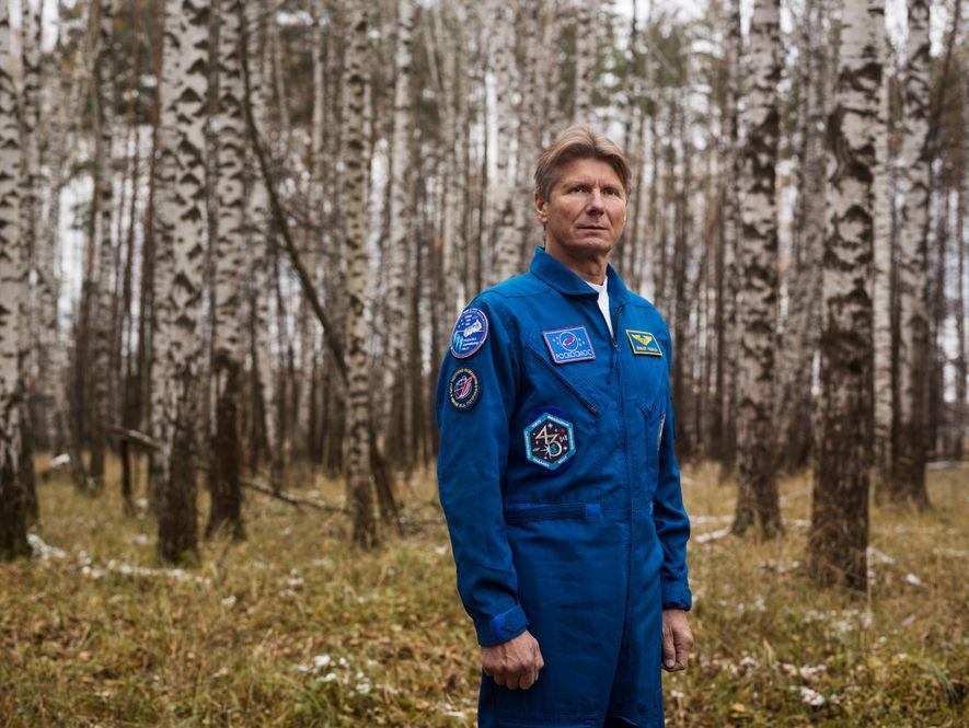 PARC NATIONAL DE LOSSINY OSTROV, RUSSIE - Le cosmonaute russe détient le record du temps passé ...