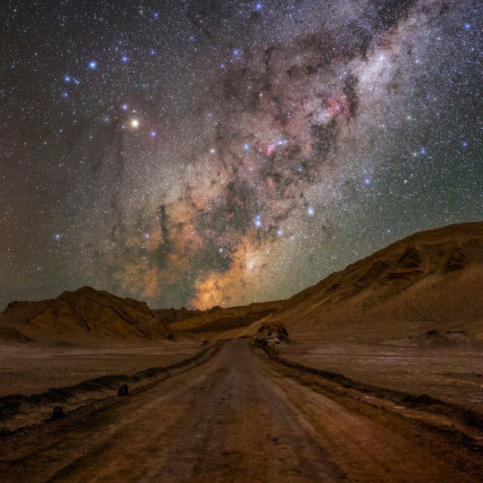 Le désert d'Atacama au Chili est la Mecque des astronomes. Cet endroit, connu pour son absence ...