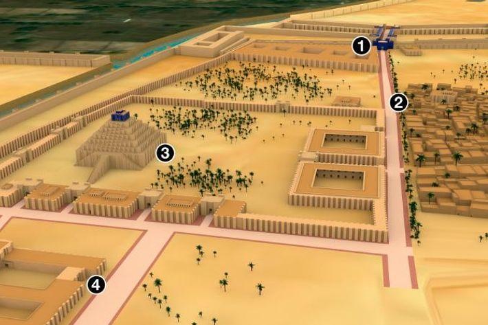 Babylone a connu son apogée sous Nabuchodonosor II, qui a renforcé les fortifications de la ville ...