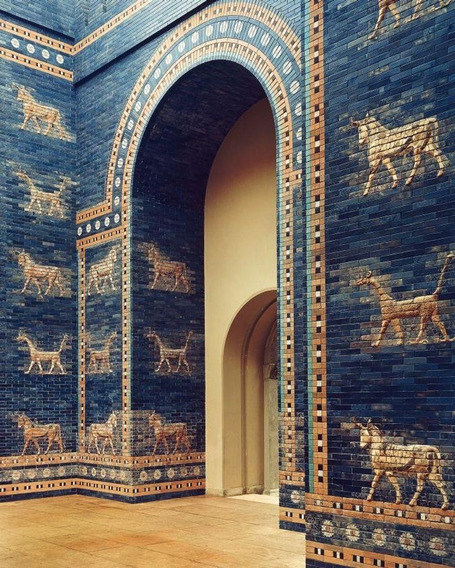 La plus célèbre des huit portes que Nabuchodonosor II a construites autour de Babylone. Cette porte ...