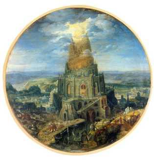 Le temple de Babylone, devenu le symbole de l'arrogance humaine aux yeux de Dieu, a été ...