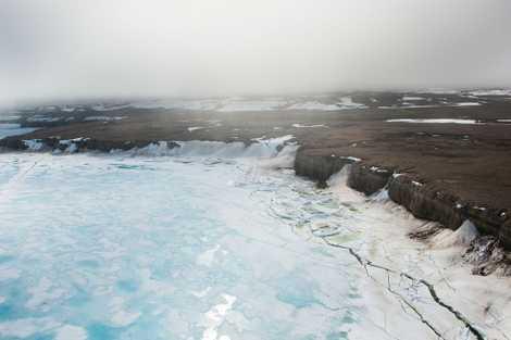 La fonte des glaces s'accélère pour les glaciers de l'île de Baffin