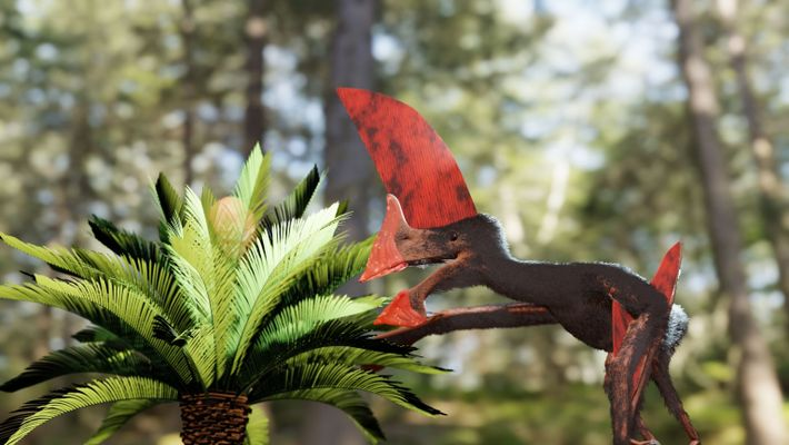 Le nouveau fossile apporte des précisions inédites à propos de cette espèce. Elle ne pouvait sûrement ...