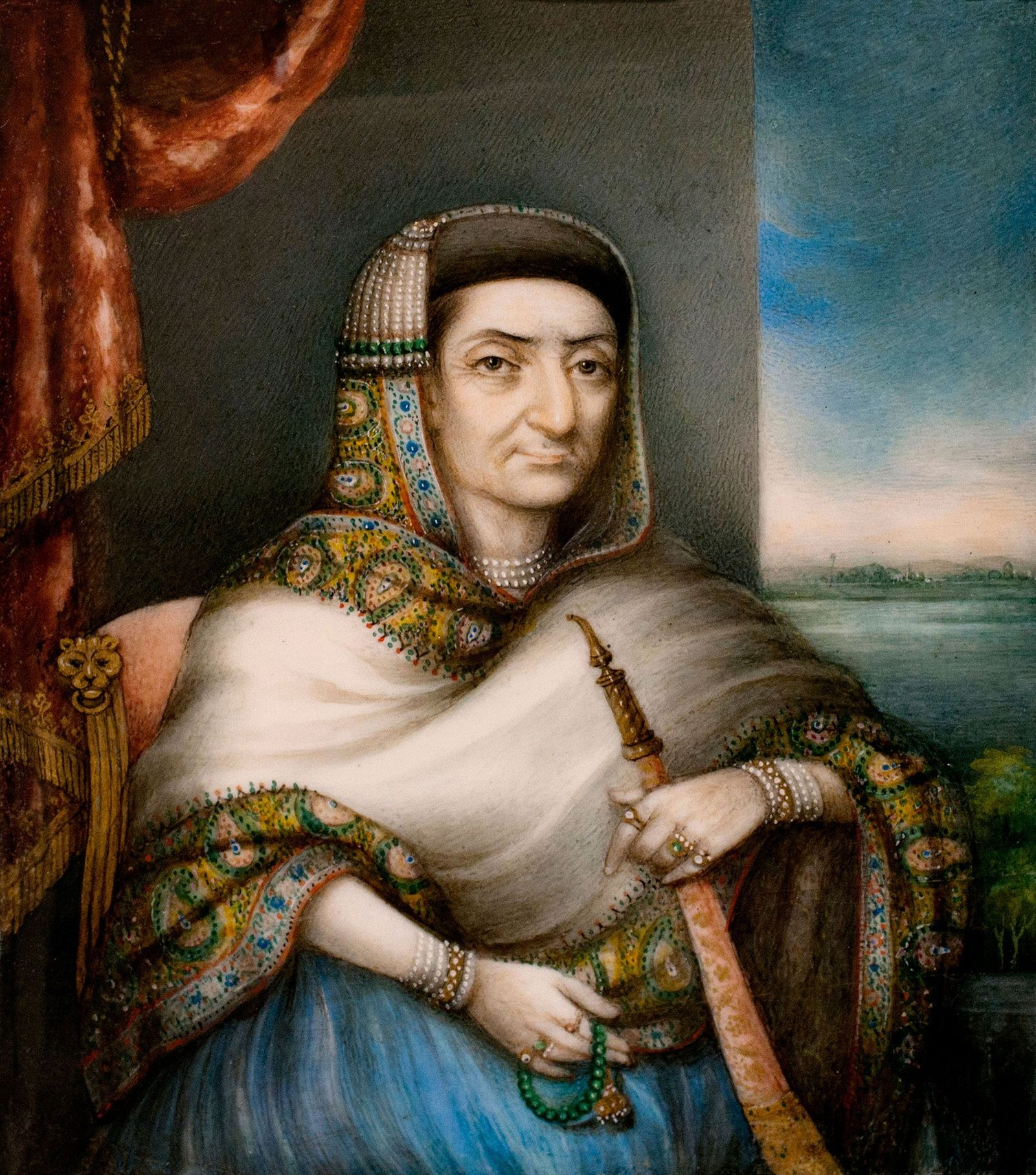 Begum Samru, la courtisane indienne devenue souveraine
