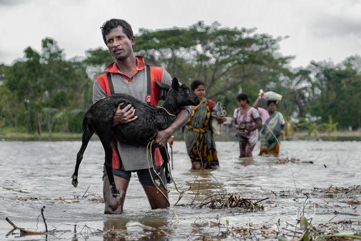 En mai, l'est de l'Inde et le Bangladesh ont été frappés par une super tempête cyclonique ...