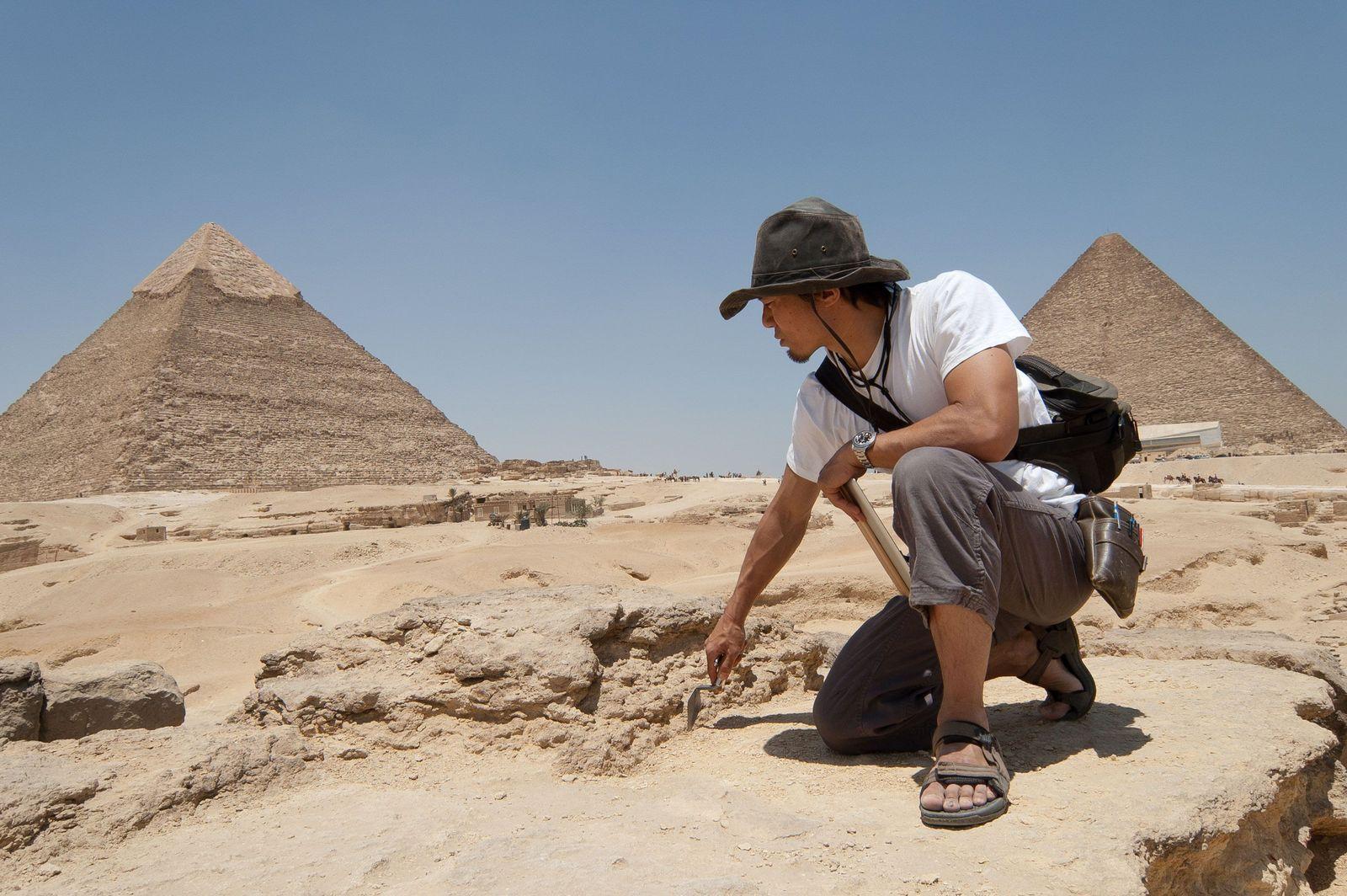 L'archéologue japonais Yukinori Kawae fait partie des nouveaux explorateurs National Geographic.
